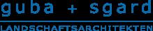 guba sgard landschaftsarchitekten logo