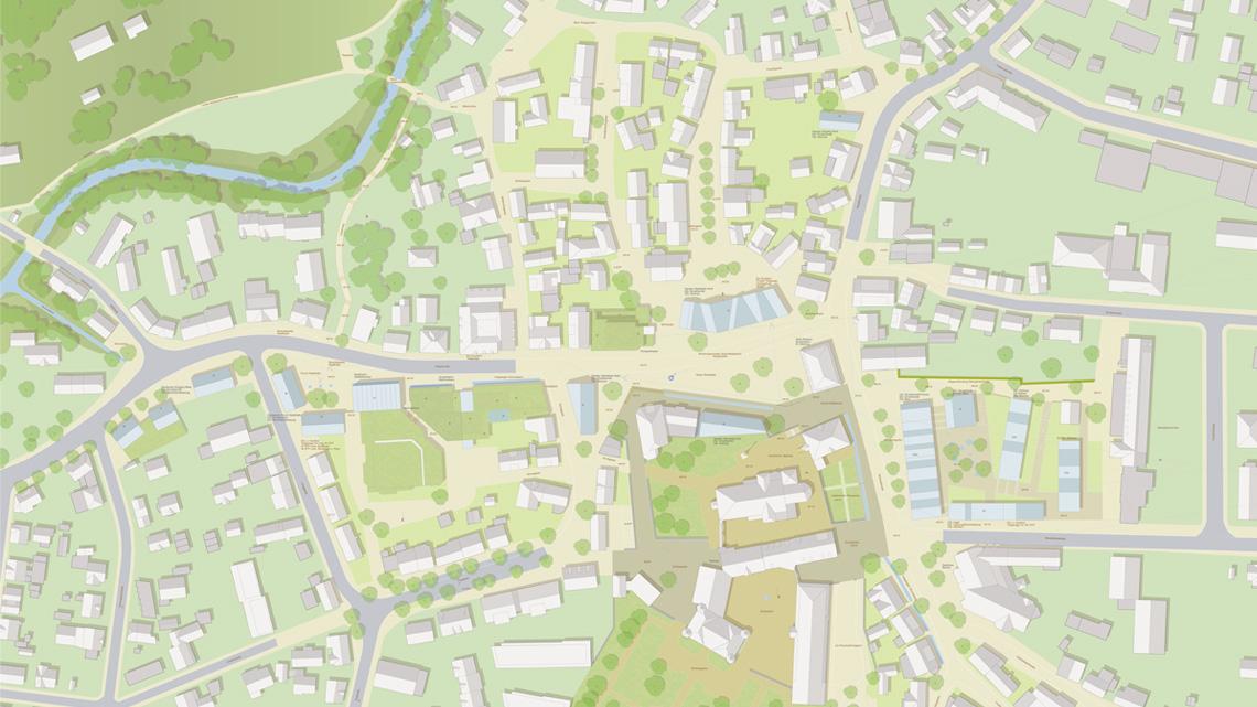 Neuordnung Stadtmitte Donzdorf